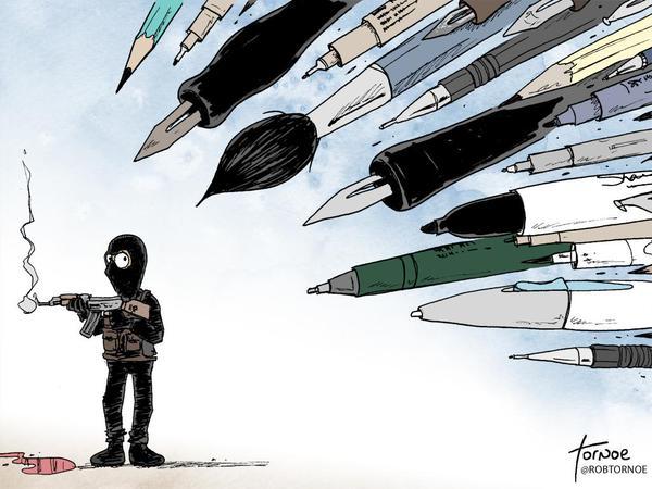 Rob Tornoe / Comiczeichner und Karikaturist